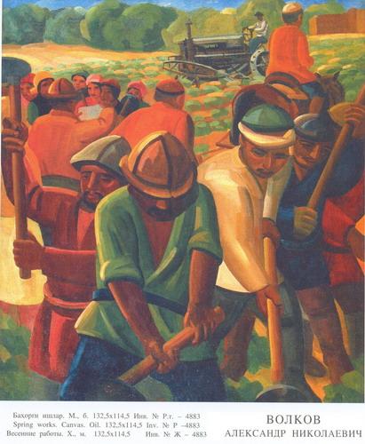 Volkov A. N.- Spring works