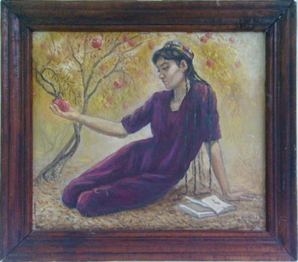 Portrait Gulsanam. 2003