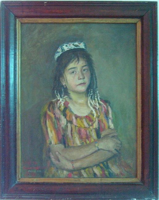 Uzbek girl. 1999
