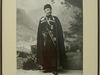 Poul Nodar in suit of the captain of the cossacks of Mariy (Studio Nodar)