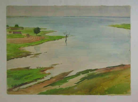 Kattakurgan reservoir. 1982