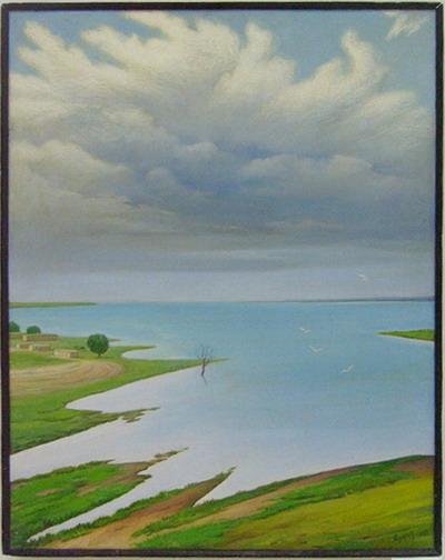 Kattakurgan reservoir-1. 1982