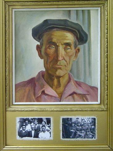 Portrait of Father Zubair Khaidarovich. 1979
