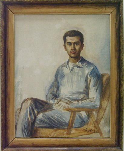 Portrait of son Danislam. 2001.