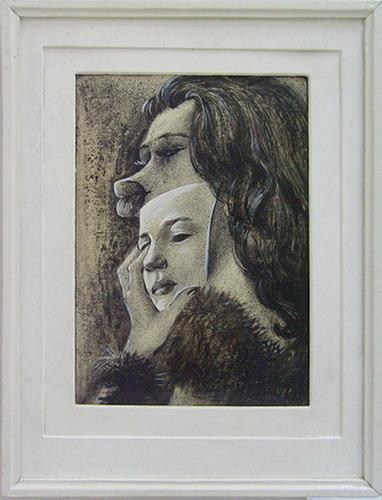 R.Azikhanov. Mask. 1974