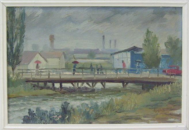 Tezikov bridge. 1978