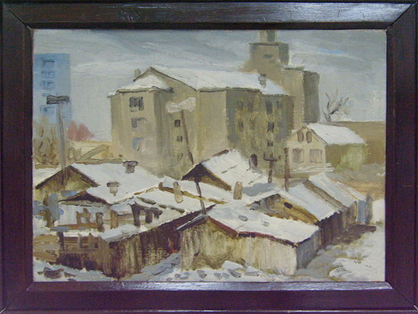 Winter etude. Tashkent. 1978