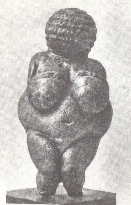 Женская татуэтка из Виллендорфа, Верхний палеолит