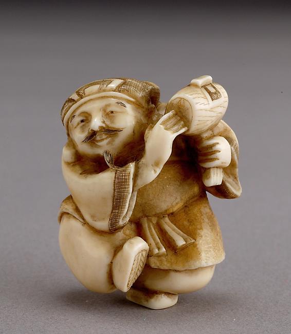 Netsuke - искусство, воплощения жизни в миниатюре