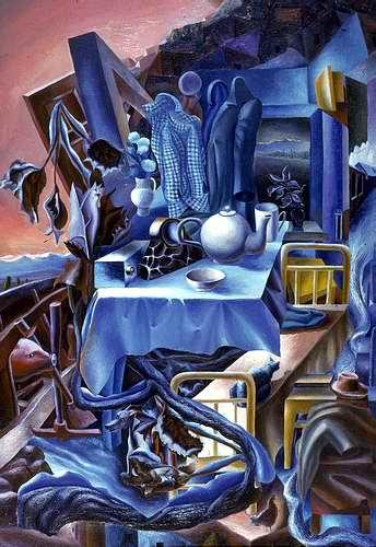 «Ожидание» Холст, масло, 1985, 70х55 см.