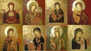 iconostasis. Elena Kambina