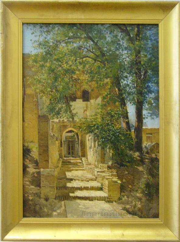 Zommer R.K. (1866 — 1939). Мазар (кладбище) в Ташкенте.