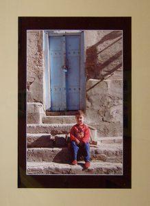 Пантеа Теодор Раду. Румыния. Голубая дверь