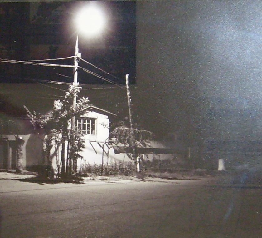Ночь, фонарь, улица - родное.