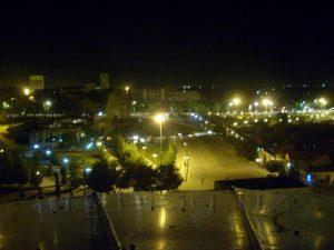 Мавзолей Рухабад в ночи. Самарканд. 2011