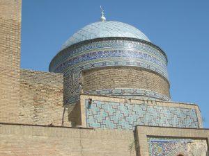 Мавзолей - ханака Ходжа Абди Берун. фрагмент.