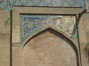 Мавзолей - ханака Ходжа Абди Берун. фрагмент3.