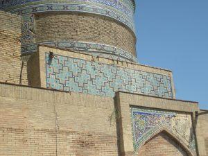 Мавзолей - ханака Ходжа Абди Берун. фрагмент1.