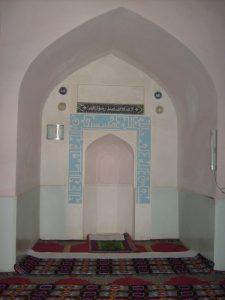 Михраб мечети Ходжа Абди Берун. Самарканд