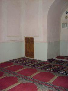 Худжира в мечети Ходжа Абди Берун. Самарканд