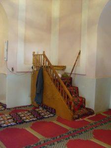 Минбар мечети Ходжа Абди Берун