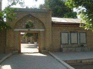 Вход во двор мечети Ходжа Абди Берун