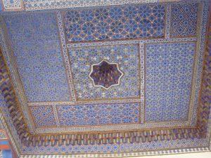 Расписной потолок -1й мечети -2
