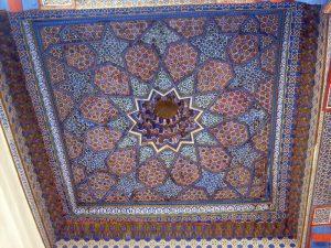Расписной потолок -1й мечети -3