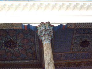 Фрагмент айвана мечети 17в. Самарканд