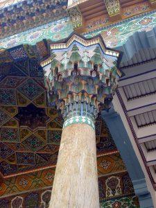 Фрагмент айвана мечети 18-19 вв. Самарканд