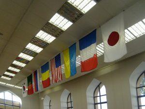Флаги стран участников фотовыставки-1
