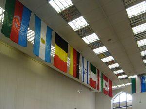Флаги стран участников фотовыставки