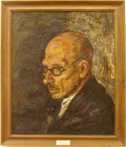 М.Курзин. Портрет Рождественского. 1936