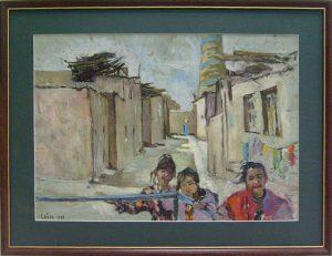 Sayra Keltaeva. Дети Хивы. 1988.
