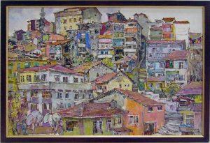 Sayra Keltaeva. Домики в Стамбуле. 2005