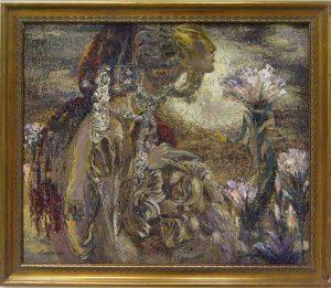 Sayra Keltaeva. Цветение. 2000