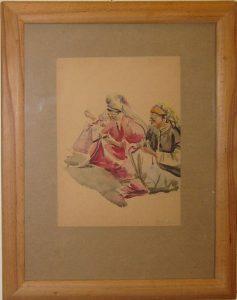 Зинаида Ковалевская. Вышивальщицы. 1960