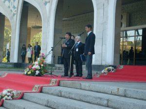 Открытие Национального павильона VI -й ТМБСИ