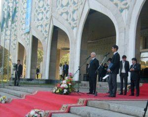 Открытие Национального павильона VI -й ТМБСИ.