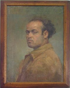 A.Ye.Viner, Selfpotrait. 1950