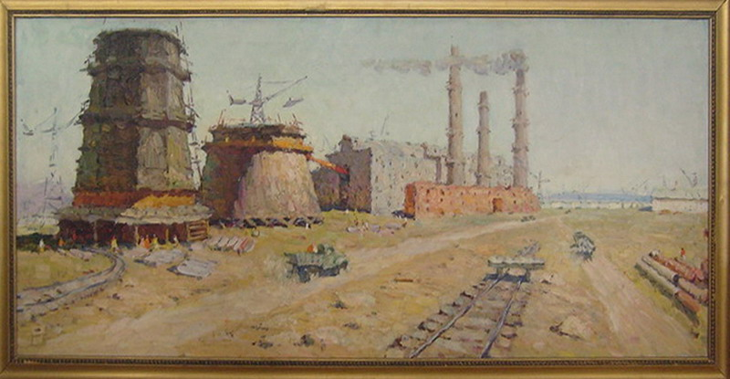 E.M.Kalantarov,The Angre. n hydropower station. 19760