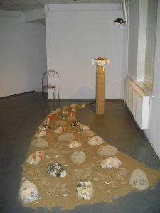 Muhammad Fozili. Installation _ Arcadia awaits