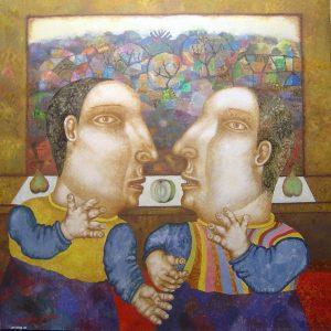 The-twins-2010. Seiran Kurtdzhemil