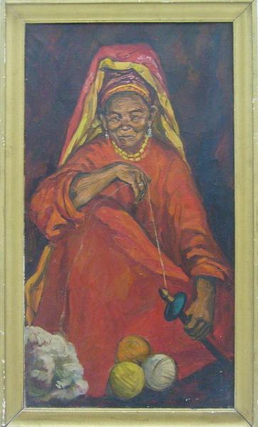 Сказательница Офтоб-Момо. Турсунали Кузиев. (ДХВ). 1986