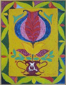 Тахир Каримов. Восточное панно. 1999