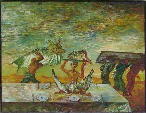 Тохтаев М. Триптих - Зов уходящего моря - п. 1988 (ДХВ)