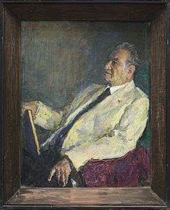 Портрет народного артиста С. Габибуллаева. 1968 (ДХВ)