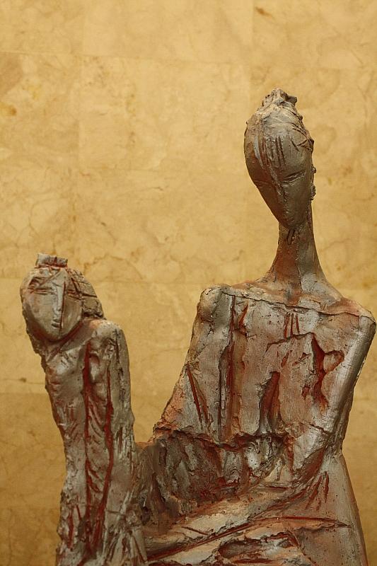 Азамат Хатамов. Мать и дитя. фрагмент.