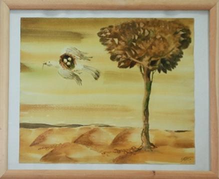 Павел Кичко. Летающее гнездо. Из кол-ии А.Назарова