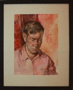 Виктория Трошина. Портрет отца. 1985